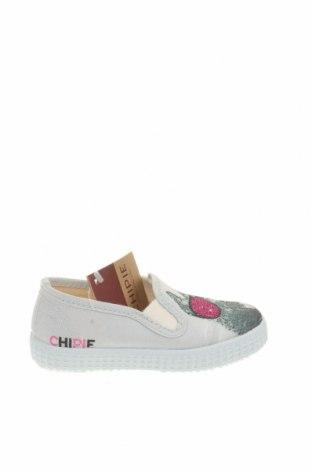 Παιδικά παπούτσια Chipie, Μέγεθος 22, Χρώμα  Μπέζ, Κλωστοϋφαντουργικά προϊόντα, Τιμή 18,95€