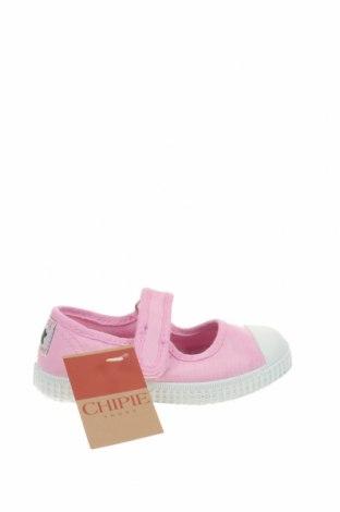 Παιδικά παπούτσια Chipie, Μέγεθος 23, Χρώμα Ρόζ , Κλωστοϋφαντουργικά προϊόντα, Τιμή 18,95€