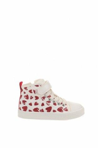 Παιδικά παπούτσια Geox, Μέγεθος 25, Χρώμα Λευκό, Κλωστοϋφαντουργικά προϊόντα, Τιμή 32,15€
