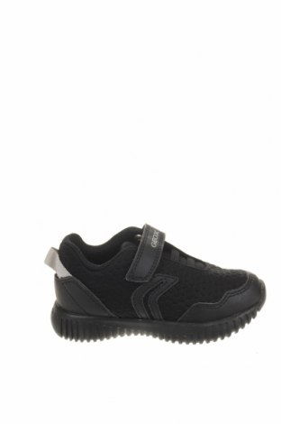 Παιδικά παπούτσια Geox, Μέγεθος 22, Χρώμα Μαύρο, Δερματίνη, κλωστοϋφαντουργικά προϊόντα, Τιμή 37,25€