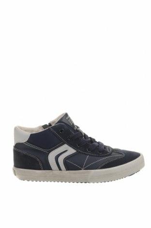 Παιδικά παπούτσια Geox, Μέγεθος 34, Χρώμα Μπλέ, Φυσικό σουέτ, δερματίνη, Τιμή 44,78€