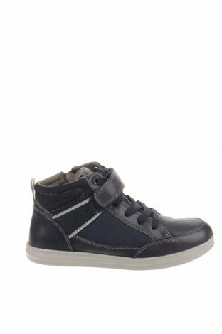 Παιδικά παπούτσια Geox, Μέγεθος 33, Χρώμα Μπλέ, Δερματίνη, γνήσιο δέρμα, Τιμή 38,27€