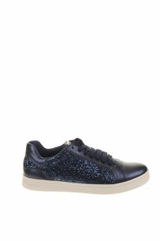 Παιδικά παπούτσια Geox, Μέγεθος 37, Χρώμα Μπλέ, Δερματίνη, κλωστοϋφαντουργικά προϊόντα, Τιμή 53,74€