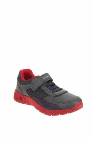 Παιδικά παπούτσια Geox, Μέγεθος 33, Χρώμα Πολύχρωμο, Δερματίνη, κλωστοϋφαντουργικά προϊόντα, Τιμή 38,27€