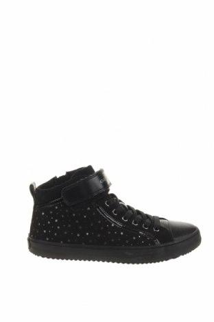 Παιδικά παπούτσια Geox, Μέγεθος 35, Χρώμα Μαύρο, Κλωστοϋφαντουργικά προϊόντα, Τιμή 37,85€