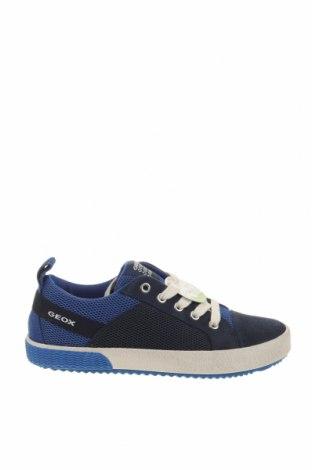 Παιδικά παπούτσια Geox, Μέγεθος 33, Χρώμα Μπλέ, Κλωστοϋφαντουργικά προϊόντα, φυσικό σουέτ, Τιμή 38,27€