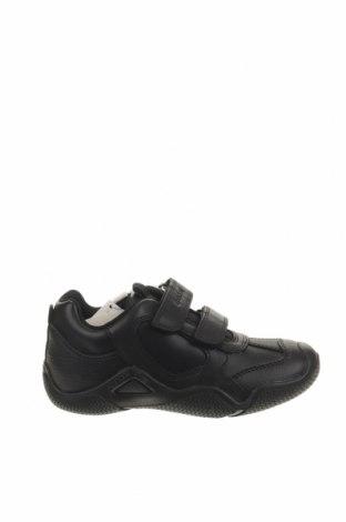 Παιδικά παπούτσια Geox, Μέγεθος 29, Χρώμα Μαύρο, Δερματίνη, γνήσιο δέρμα, Τιμή 38,27€