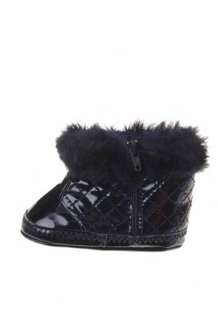 Παιδικά παπούτσια Grain De Ble, Μέγεθος 17, Χρώμα Μπλέ, Δερματίνη, κλωστοϋφαντουργικά προϊόντα, Τιμή 10,67€