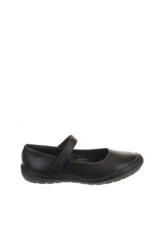 Παιδικά παπούτσια Kickers, Μέγεθος 32, Χρώμα Μαύρο, Γνήσιο δέρμα, Τιμή 29,73€
