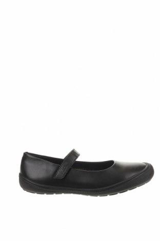 Детски обувки Kickers, Размер 35, Цвят Черен, Естествена кожа, Цена 49,77лв.
