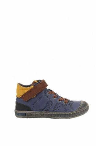 Παιδικά παπούτσια Kickers, Μέγεθος 32, Χρώμα Μπλέ, Γνήσιο δέρμα, Τιμή 25,97€