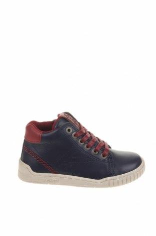 Παιδικά παπούτσια Kickers, Μέγεθος 25, Χρώμα Μπλέ, Γνήσιο δέρμα, Τιμή 48,54€