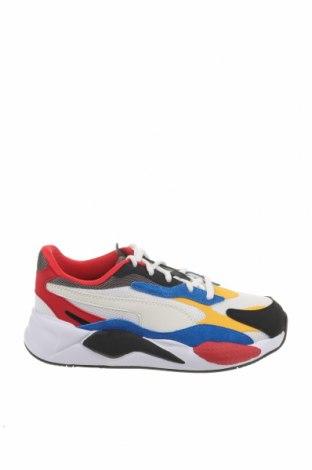 Παιδικά παπούτσια PUMA, Μέγεθος 35, Χρώμα Πολύχρωμο, Κλωστοϋφαντουργικά προϊόντα, δερματίνη, φυσικό σουέτ, Τιμή 33,49€