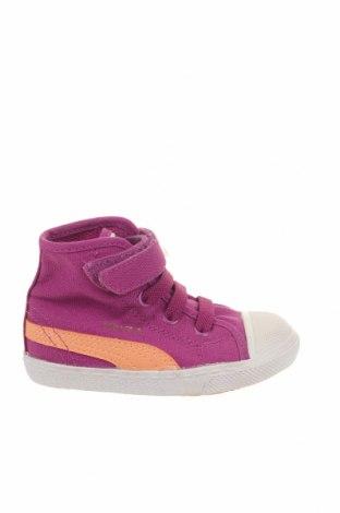 Παιδικά παπούτσια PUMA, Μέγεθος 21, Χρώμα Βιολετί, Κλωστοϋφαντουργικά προϊόντα, Τιμή 32,01€