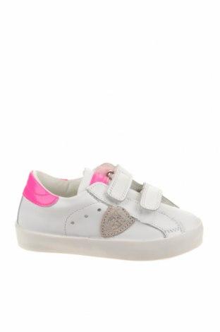 Παιδικά παπούτσια Philippe Model, Μέγεθος 24, Χρώμα Λευκό, Γνήσιο δέρμα, Τιμή 41,02€