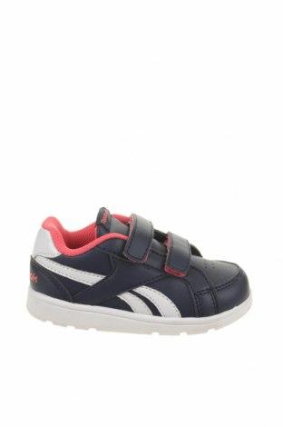 Παιδικά παπούτσια Reebok, Μέγεθος 22, Χρώμα Μπλέ, Δερματίνη, Τιμή 14,84€