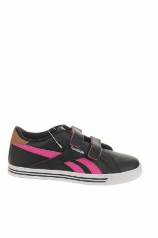 Παιδικά παπούτσια Reebok, Μέγεθος 34, Χρώμα Μαύρο, Δερματίνη, Τιμή 36,65€