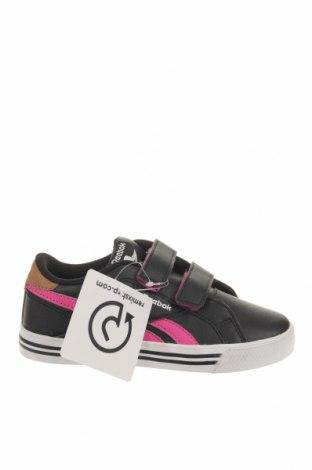 Παιδικά παπούτσια Reebok, Μέγεθος 28, Χρώμα Μαύρο, Δερματίνη, Τιμή 36,65€