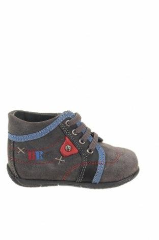 Παιδικά παπούτσια Saxo Blues, Μέγεθος 21, Χρώμα Γκρί, Φυσικό σουέτ, Τιμή 18,35€