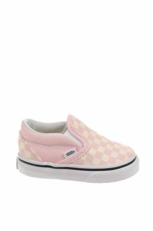 Παιδικά παπούτσια Vans, Μέγεθος 19, Χρώμα Ρόζ , Κλωστοϋφαντουργικά προϊόντα, Τιμή 15,80€