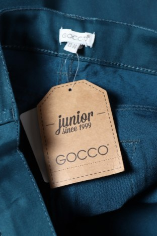 Παιδικό παντελόνι Gocco, Μέγεθος 13-14y/ 164-168 εκ., Χρώμα Πράσινο, 71% βαμβάκι, 27% πολυεστέρας, 2% ελαστάνη, Τιμή 6,32€