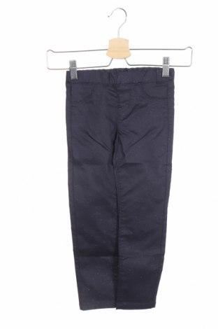 Dětské kalhoty  Grain De Ble, Velikost 4-5y/ 110-116 cm, Barva Modrá, 61% bavlna, 37% polyester, 2% elastan, Cena  178,00Kč
