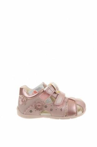 Παιδικά σανδάλια Geox, Μέγεθος 24, Χρώμα Ρόζ , Δερματίνη, γνήσιο δέρμα, Τιμή 36,70€