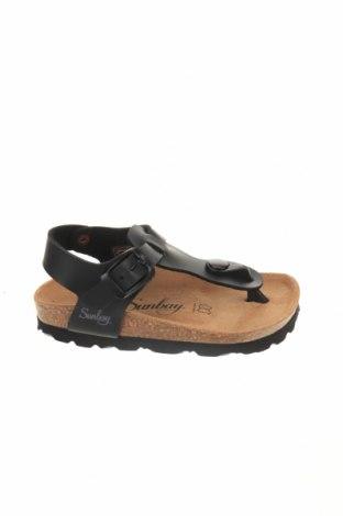 Детски сандали Sunbay, Размер 26, Цвят Черен, Еко кожа, Цена 31,60лв.