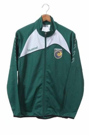 Παιδικό αθλητικό πάνω φόρμα Hummel, Μέγεθος 14-15y/ 168-170 εκ., Χρώμα Πράσινο, Πολυεστέρας, Τιμή 9,55€