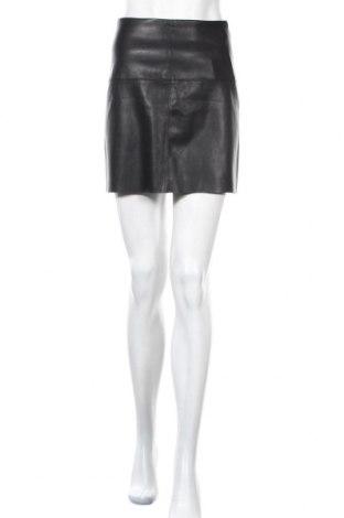 Δερμάτινη φούστα Pimkie, Μέγεθος XS, Χρώμα Μαύρο, Δερματίνη, Τιμή 14,94€