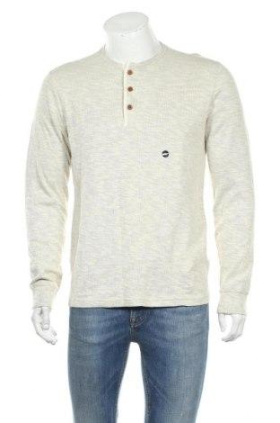 Ανδρική μπλούζα Abercrombie & Fitch, Μέγεθος M, Χρώμα  Μπέζ, 93% βαμβάκι, 7% ελαστάνη, Τιμή 44,81€