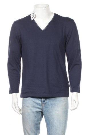 Ανδρική μπλούζα Van Laack, Μέγεθος M, Χρώμα Μπλέ, 60% βαμβάκι, 40% πολυεστέρας, Τιμή 14,29€