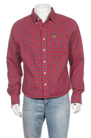 Ανδρικό πουκάμισο Abercrombie & Fitch, Μέγεθος XL, Χρώμα Κόκκινο, Βαμβάκι, Τιμή 25,33€