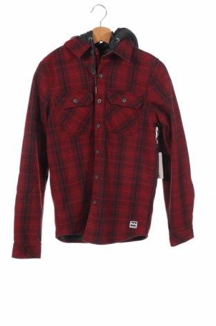 Мъжка риза Billabong, Размер XS, Цвят Червен, Памук, Цена 15,80лв.