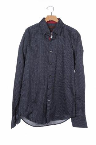 Ανδρικό πουκάμισο Bossini, Μέγεθος S, Χρώμα Μπλέ, Βαμβάκι, Τιμή 6,43€