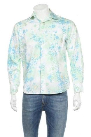 Ανδρικό πουκάμισο Bossini, Μέγεθος S, Χρώμα Πολύχρωμο, Βαμβάκι, Τιμή 8,64€