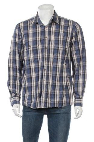 Ανδρικό πουκάμισο Camel Active, Μέγεθος M, Χρώμα Πολύχρωμο, Βαμβάκι, Τιμή 17,28€