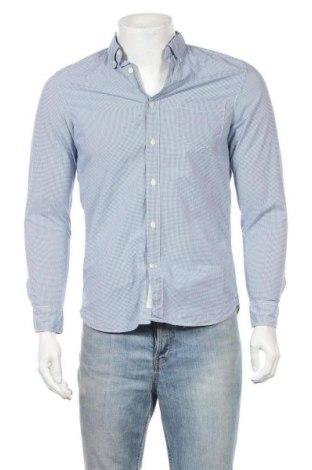 Мъжка риза H&M L.O.G.G., Размер S, Цвят Син, Памук, Цена 4,64лв.