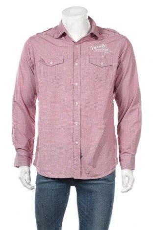 Мъжка риза Maddox, Размер L, Цвят Лилав, Памук, Цена 4,73лв.
