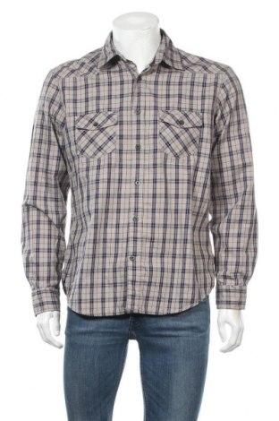 Мъжка риза Peckott, Размер M, Цвят Бежов, Цена 18,95лв.