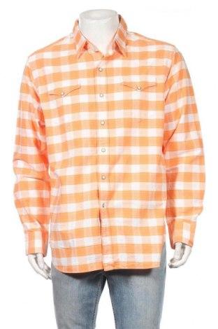 Мъжка риза Polo By Ralph Lauren, Размер XL, Цвят Оранжев, Памук, Цена 78,75лв.