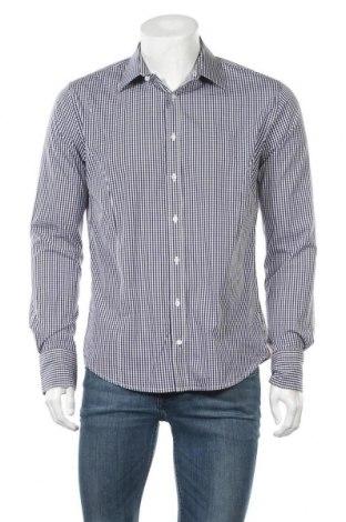 Ανδρικό πουκάμισο Q1, Μέγεθος L, Χρώμα Μπλέ, 75% βαμβάκι, 21% πολυαμίδη, 4% ελαστάνη, Τιμή 7,60€