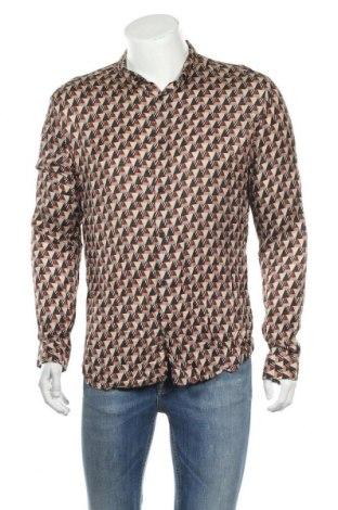 Мъжка риза River Island, Размер L, Цвят Многоцветен, Вискоза, Цена 19,95лв.