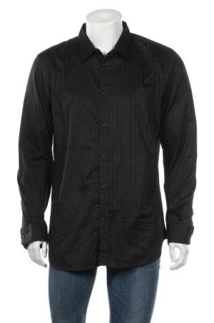 Мъжка риза Trend, Размер XXL, Цвят Черен, Памук, Цена 9,98лв.