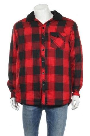Мъжка риза Urban Classics, Размер XL, Цвят Червен, 68% полиестер, 32% вискоза, Цена 39,00лв.