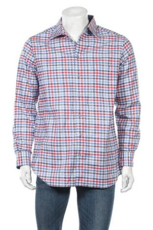 Ανδρικό πουκάμισο Walbusch, Μέγεθος M, Χρώμα Πολύχρωμο, 64% βαμβάκι, 36% λινό, Τιμή 12,34€