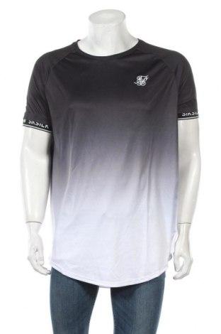 Мъжка тениска SikSilk, Размер XXL, Цвят Многоцветен, Полиестер, Цена 19,00лв.