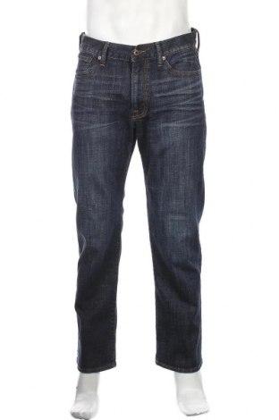 Мъжки дънки Lucky Brand, Размер M, Цвят Син, 98% памук, 2% еластан, Цена 23,94лв.
