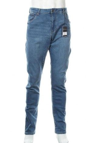 Мъжки дънки Urban Classics, Размер L, Цвят Син, 98% памук, 2% еластан, Цена 37,96лв.