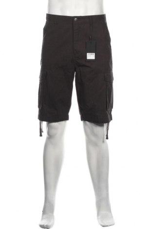 Мъжки къс панталон Hailys, Размер L, Цвят Сив, Памук, Цена 19,78лв.